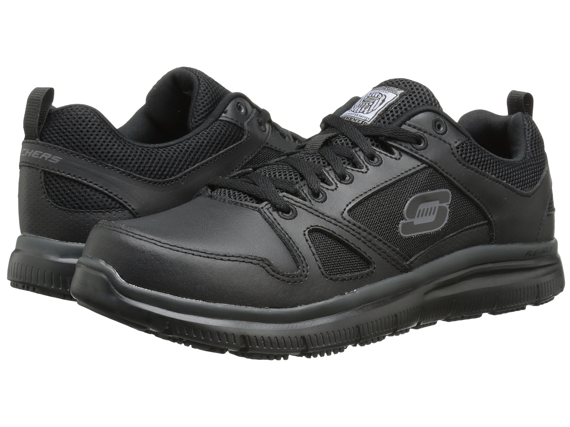 SKECHERS Work Flex - Advantage - Zappos.com Free Shipping BOTH Ways