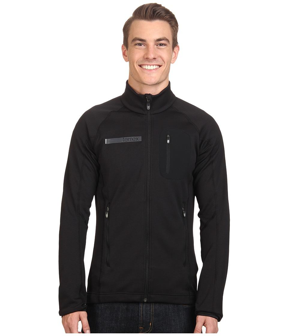 adidas Outdoor Terrex Coco Fleece Jacket (Black) Men
