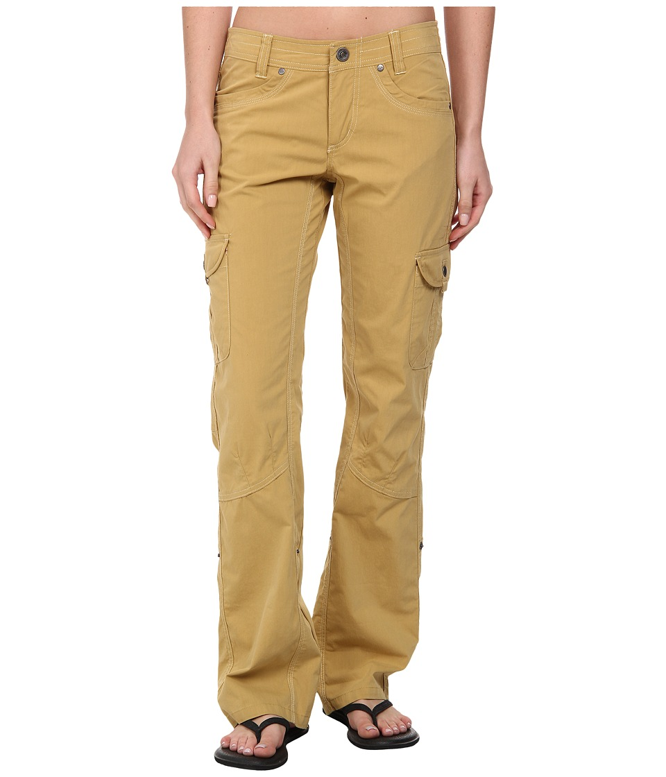 Kuhl Splash Roll Up Pant Camel Womens Casual Pants