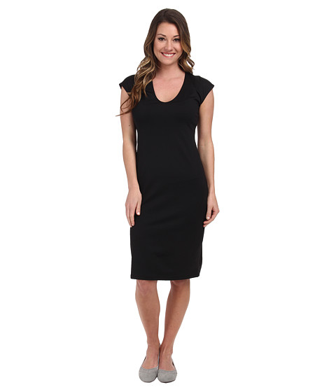 FIG Clothing Gig Dress - Black