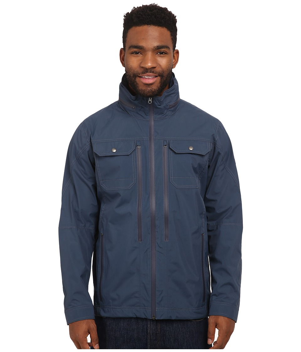 Kuhl Saboteur Jacket Pirate Blue Mens Coat