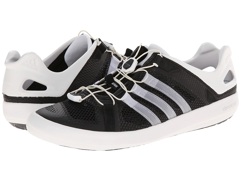 adidas Outdoor - Climacool Boat Breeze (Black/White/Black) Men's Shoes