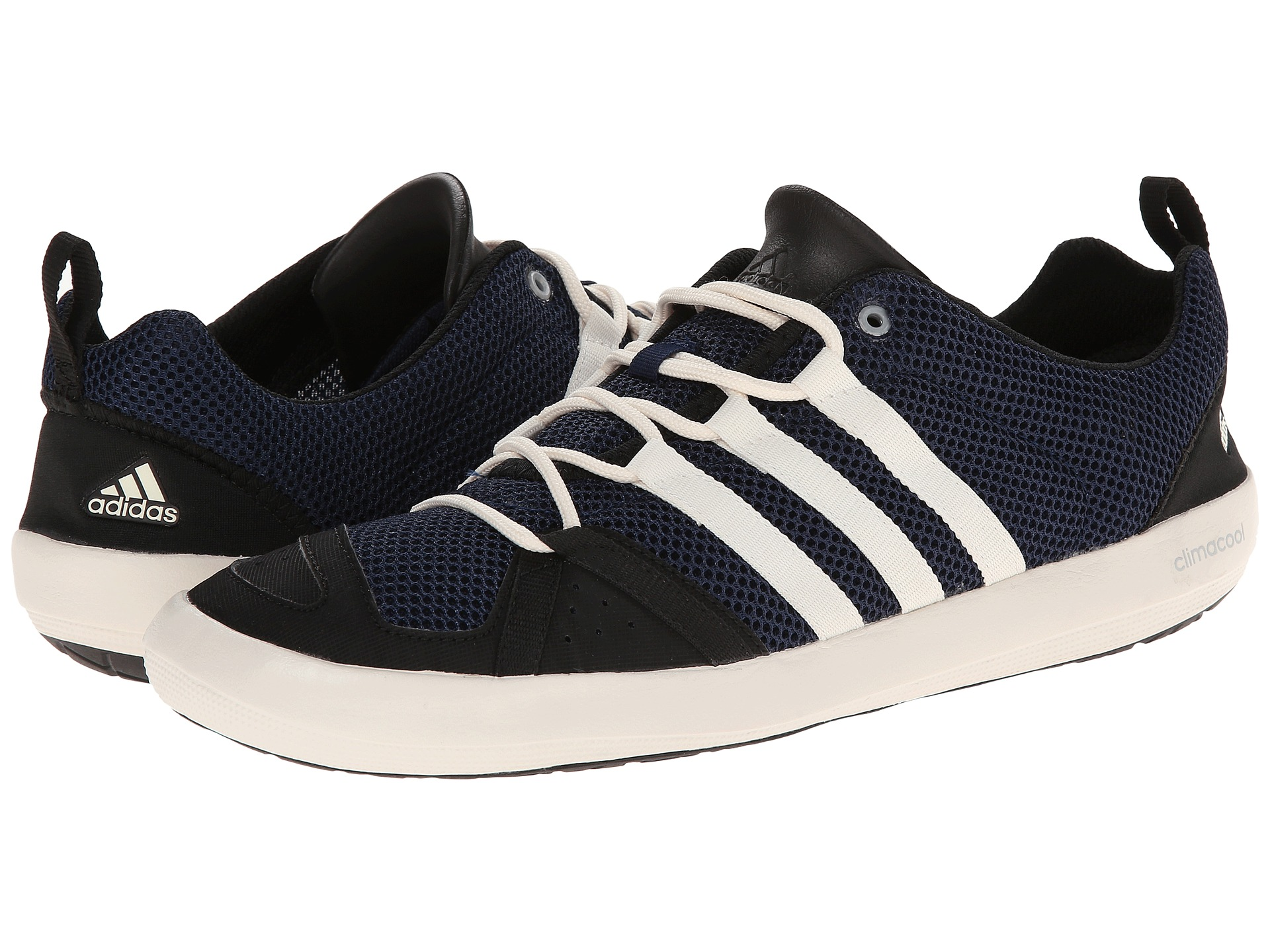 adidas outdoor climacool boat lace col navy chalk white. Black Bedroom Furniture Sets. Home Design Ideas
