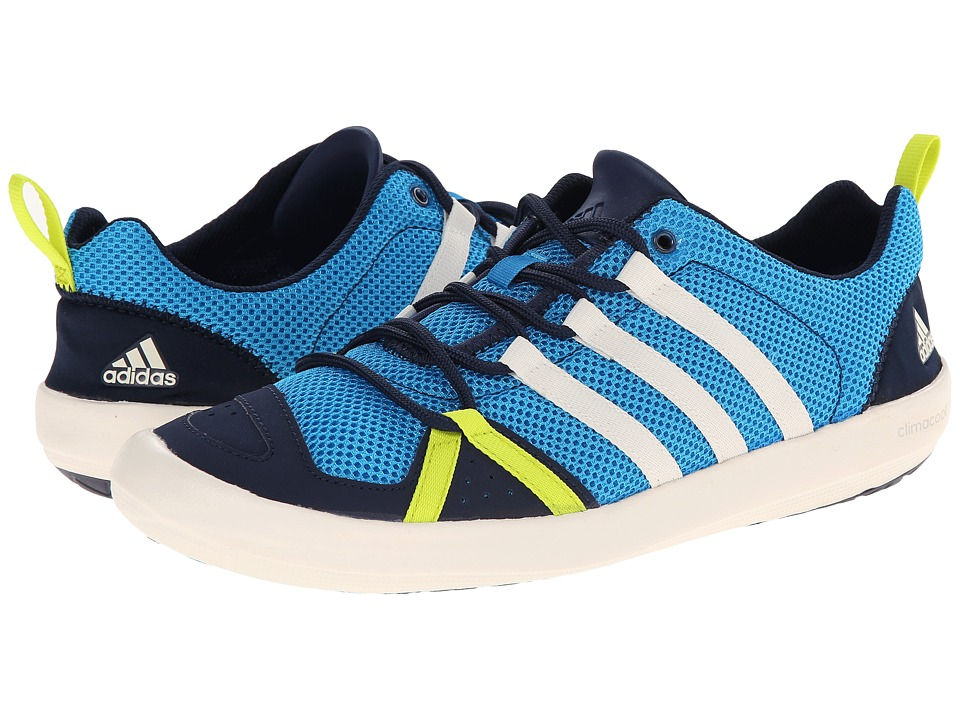 adidas Outdoor - Climacool Boat Lace (Solar Blue/Chalk White/Col. Navy) Mens Shoes