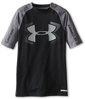 Under Armour Kids - Heatgear® Armour® UPF 50 1/2 Sleeve Top (Big Kids)