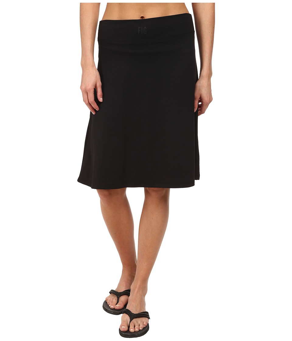 FIG Clothing Lip Skirt (Black) Women
