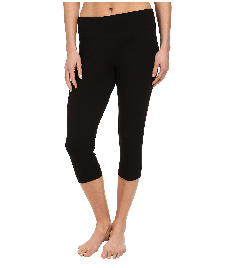 FIG Clothing - Leg Capri (Black) Womens Capri