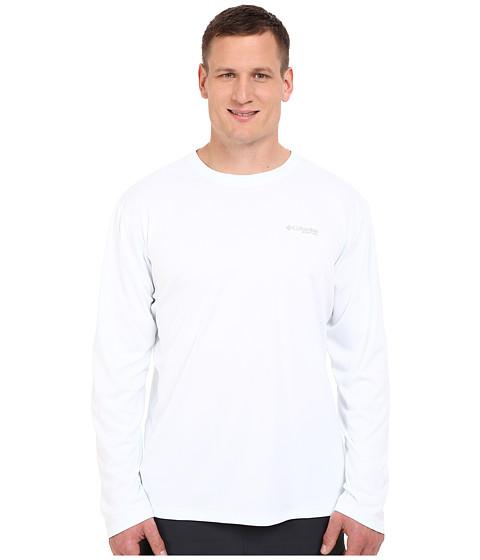 Columbia PFG ZERO Rules™ L/S Shirt - Big - White