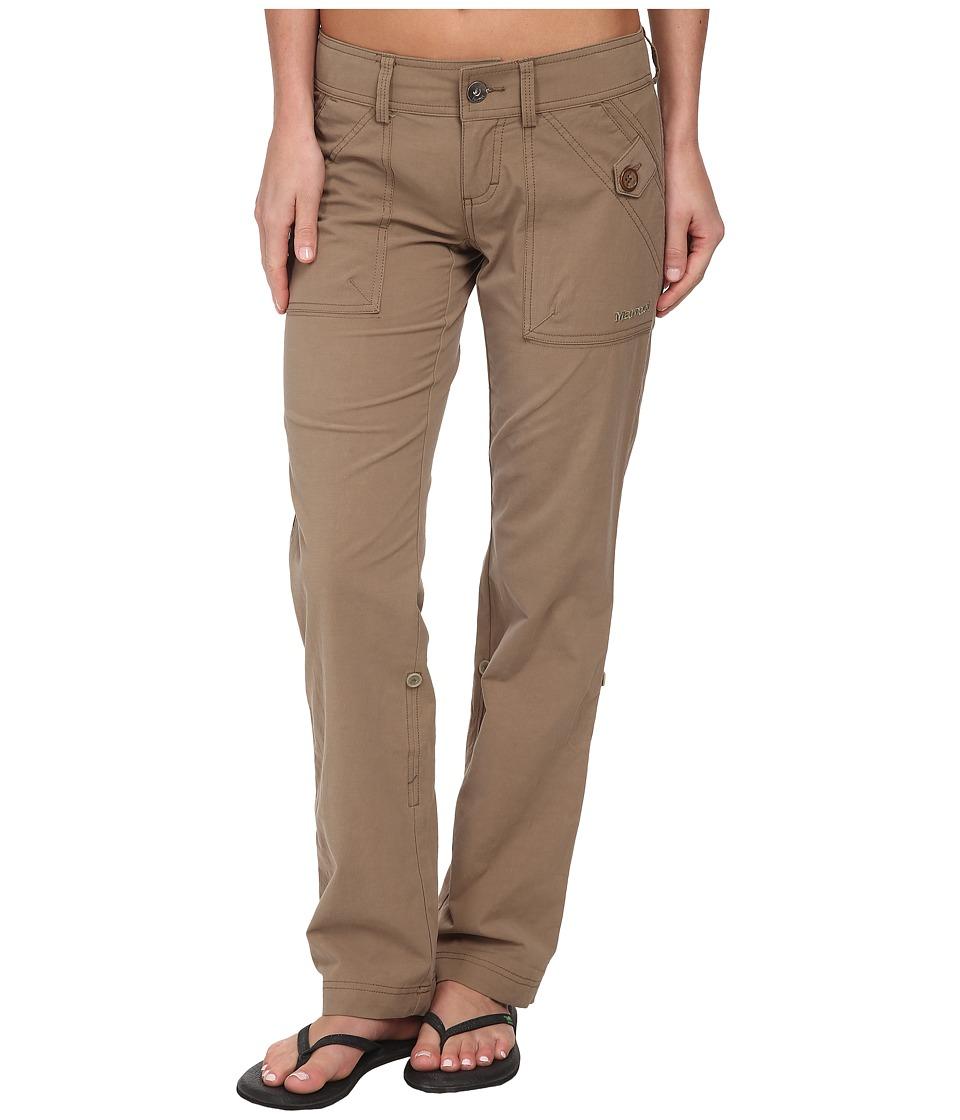 Marmot - Ginny Pant (Desert Khaki) Womens Casual Pants