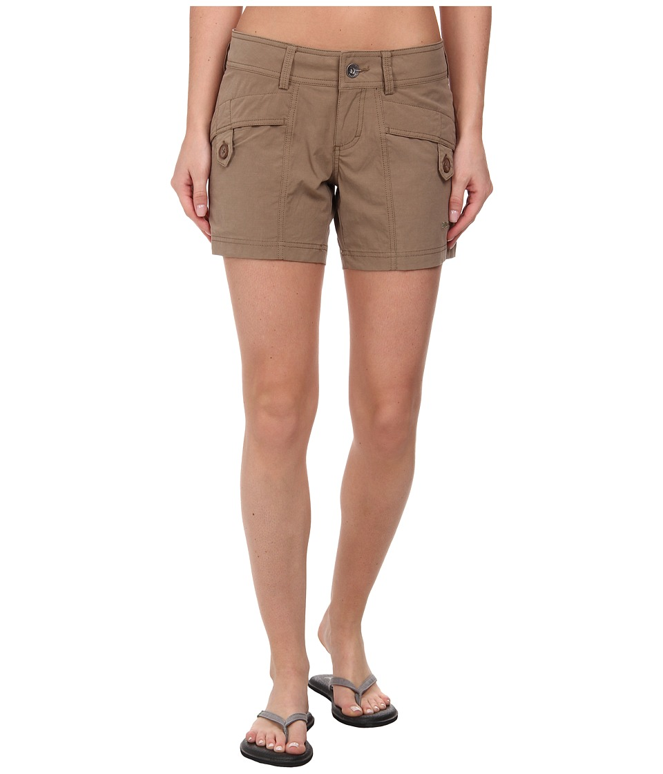 Marmot - Ginny Short (Desert Khaki) Womens Shorts