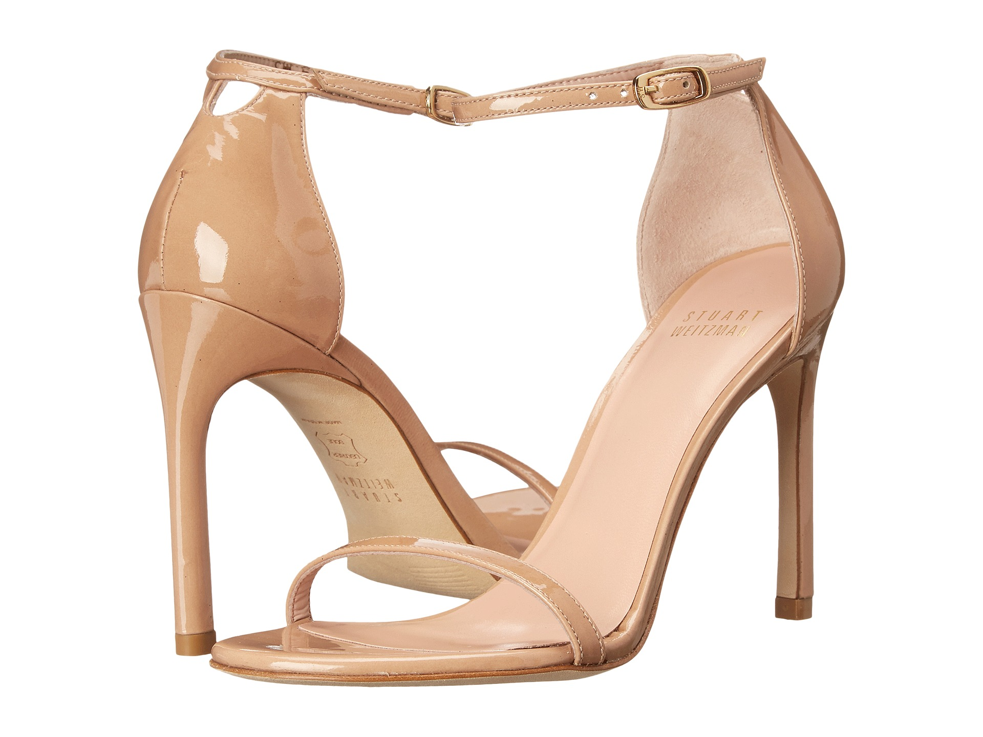 Black sandals evening - View More Like This Stuart Weitzman Nudistsong