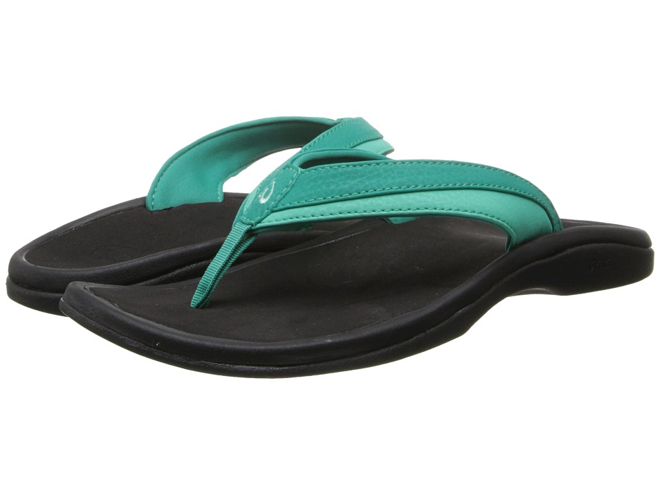 OluKai Ohana W (Mermaid/Black) Sandals