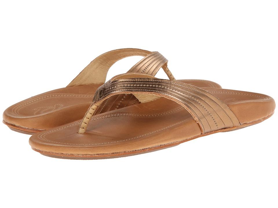 OluKai Wana Bronze/Sahara Womens Sandals