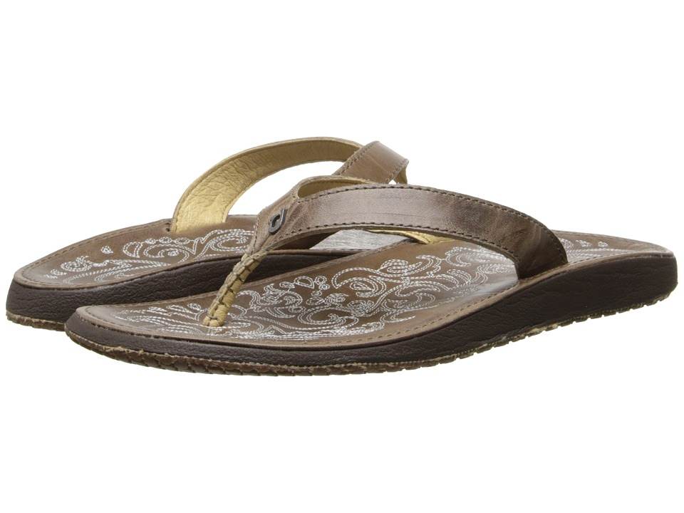 OluKai Paniolo (Clay/Clay) Sandals