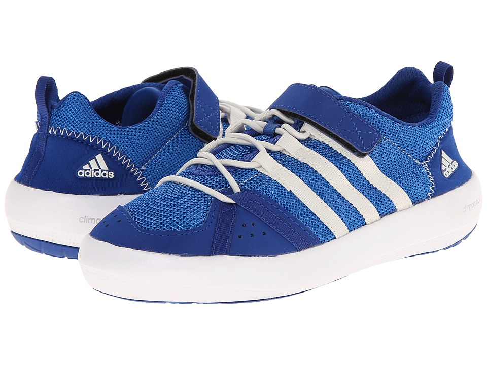 adidas Outdoor Kids Climacool Boat CF Little Kid/Big Kid Collegiate Royal/Chalk White/Bright Royal Boys Shoes
