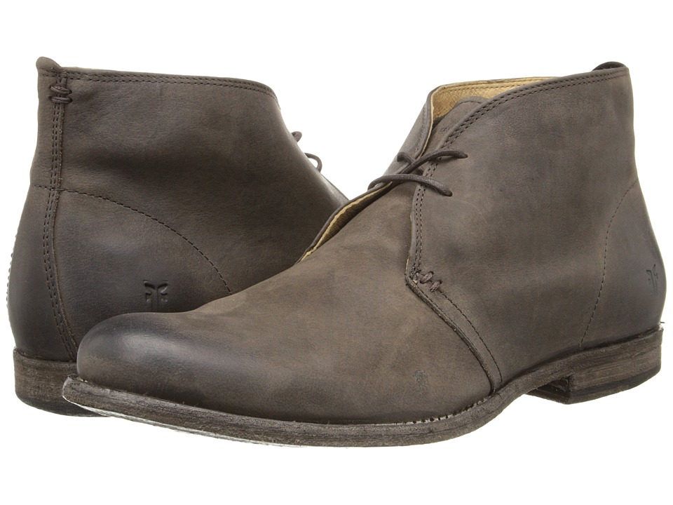 Frye - Phillip Chukka (Chocolate Pressed Nubuck) Men