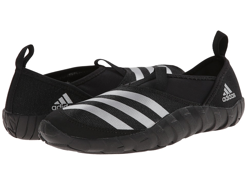 adidas Outdoor Kids Jawpaw (Toddler/Little Kid/Big Kid) (Black/Silver Metallic/Black) Kids Shoes