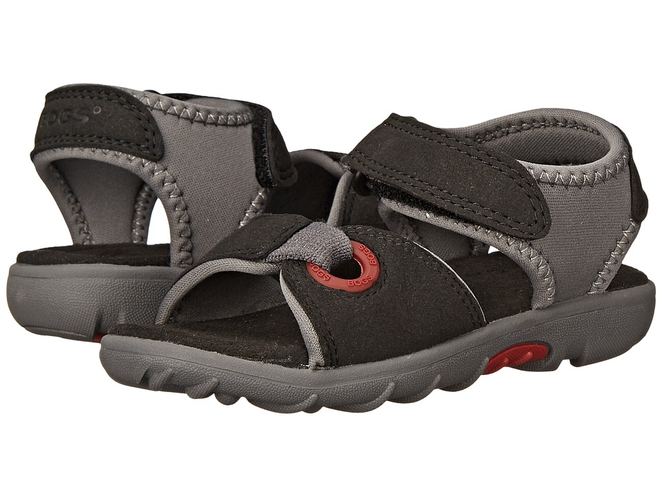Bogs Kids - Yukon Sandal (Toddler/Little Kid) (Black Multi) Boys Shoes
