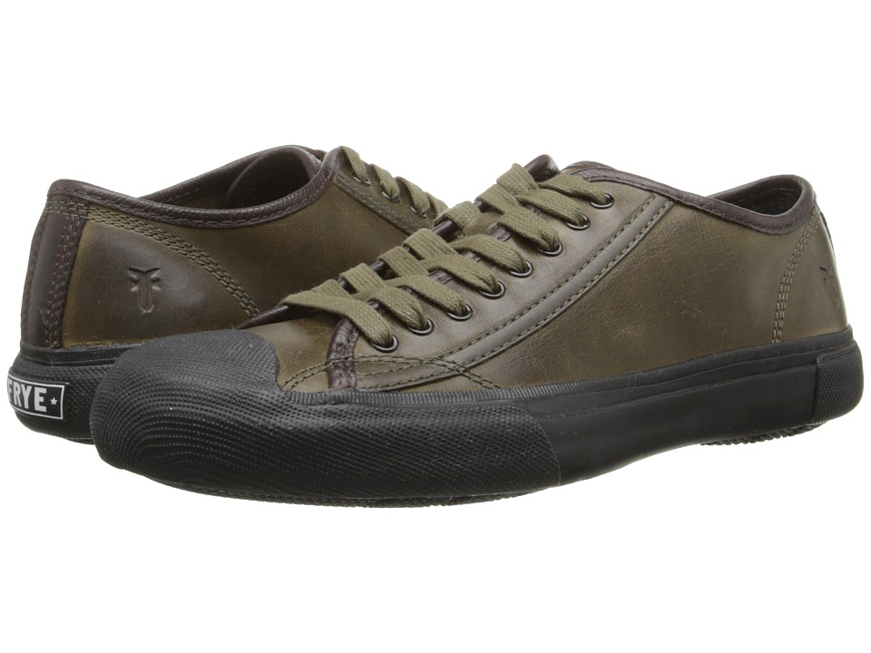 Frye - Ryan Low Lace (Olive Antique Pull Up) Men