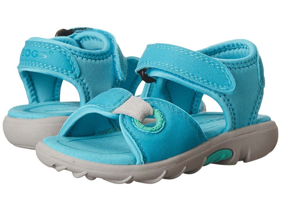 Bogs Kids - Yukon (Toddler) (Aqua Multi) Kids Shoes