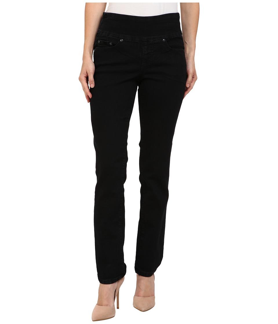Jag Jeans Petite Petite Peri Pull-On Straight in Black Void (Black Void) Women