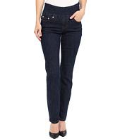 Jag Jeans Petite - Petite Peri Pull-On Straight in Dark Shadow
