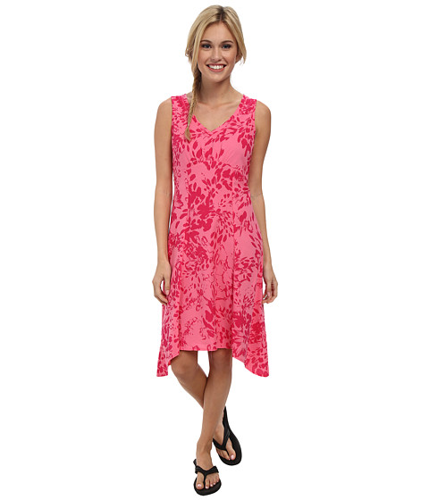 Columbia - Some R Chill Dress (Tropic Pink Brushstroke Print) Women's Dress