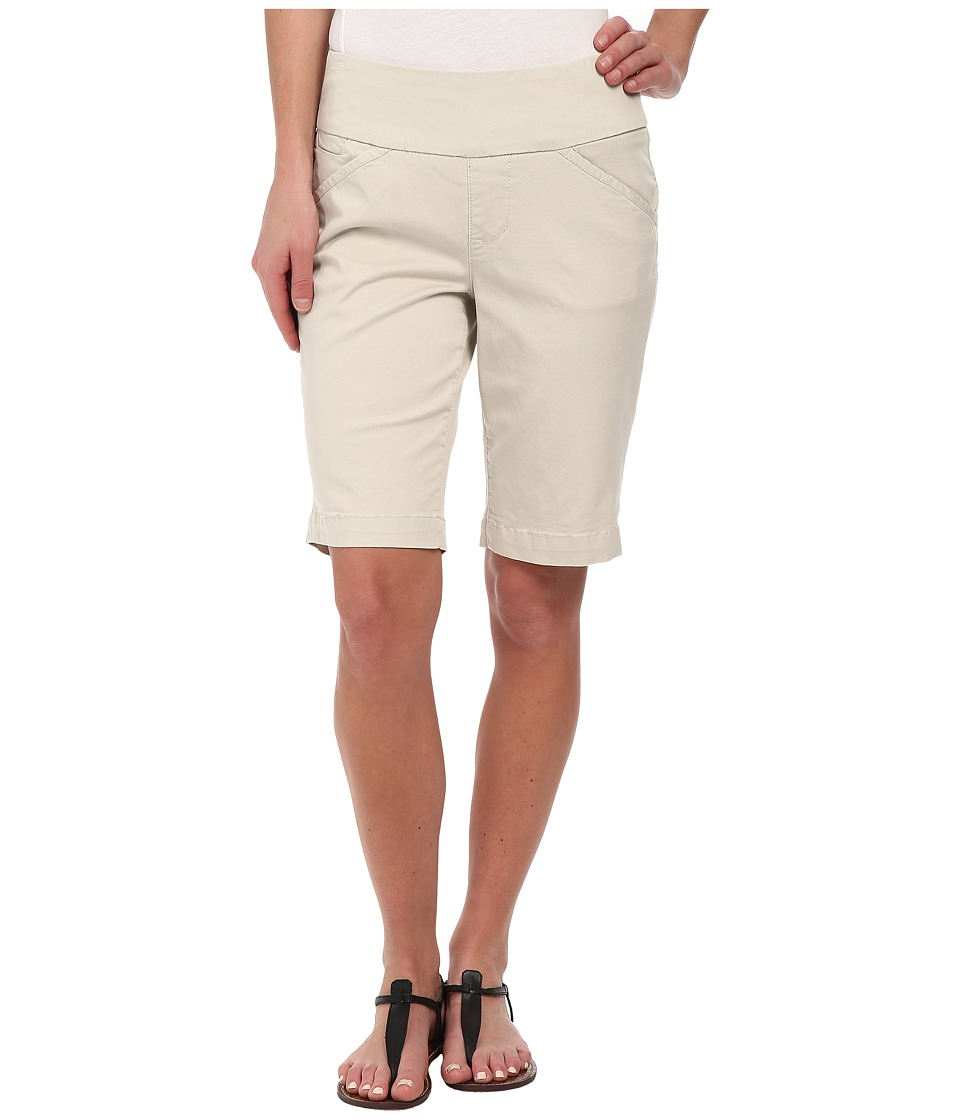 Jag Jeans Ainsley Bermuda Classic Fit Bay Twill Stone Womens Shorts
