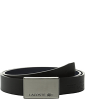 Lacoste - Premium Interchangeable Logo Plate Buckle Belt Set