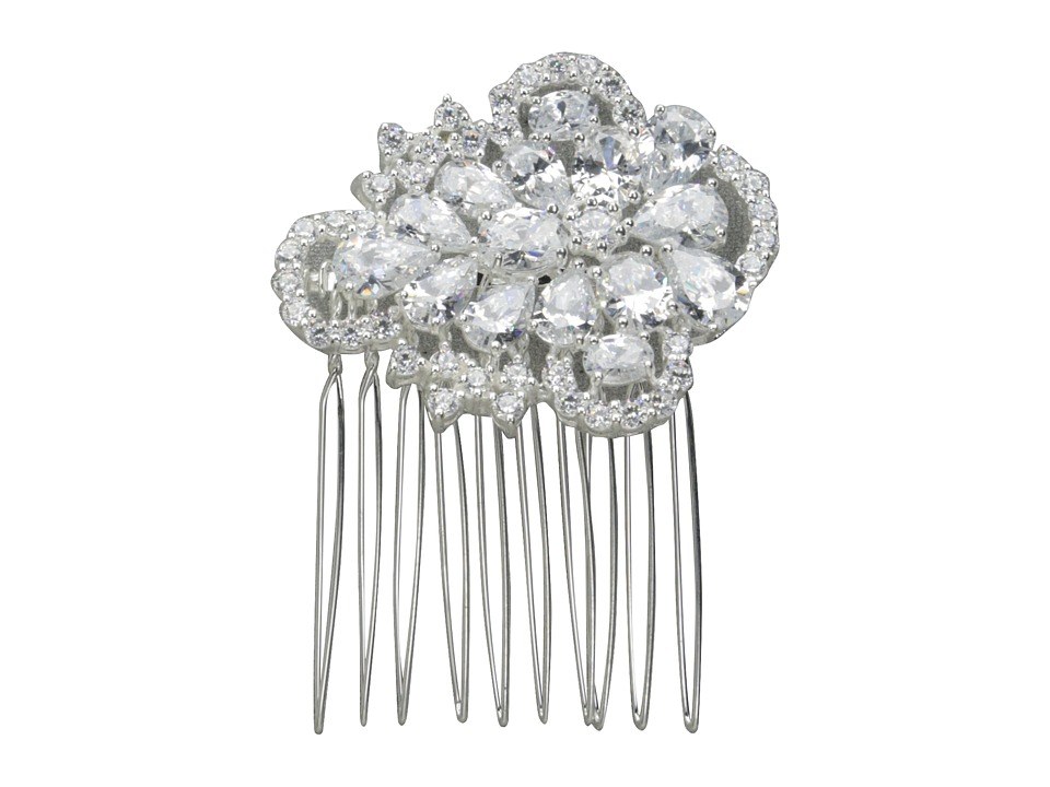 Nina - Leland (Silver/CZ) Hair Accessories