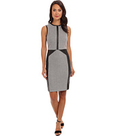 Calvin Klein - Lux Micro Houndstooth Print Dress CD4X2A06