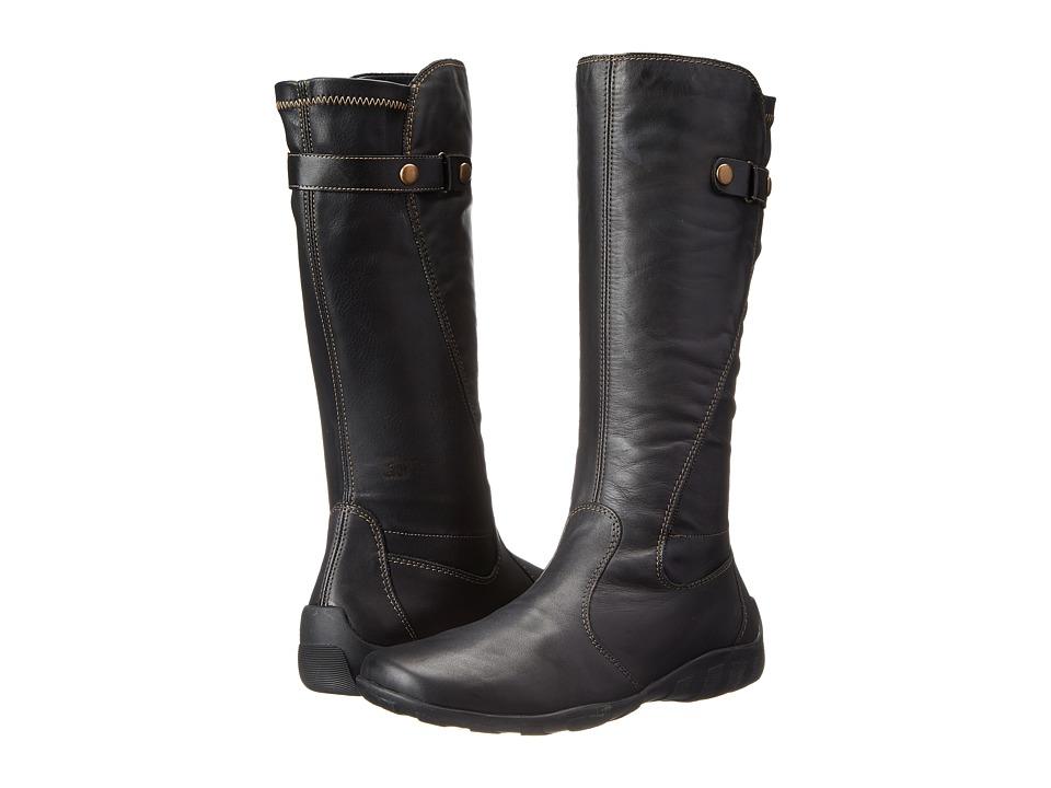 Rieker - R3473 Liv 73 (Black/Black/Black) Womens Zip Boots