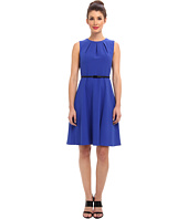 Calvin Klein - Lux A-Line Belted Dress CD4X18T7