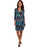 Calvin Klein - Rayon Printed Wrap Dress CD4N8D63