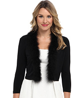 Calvin Klein - Shrug w/ Feather Trim CD4R1GQ4