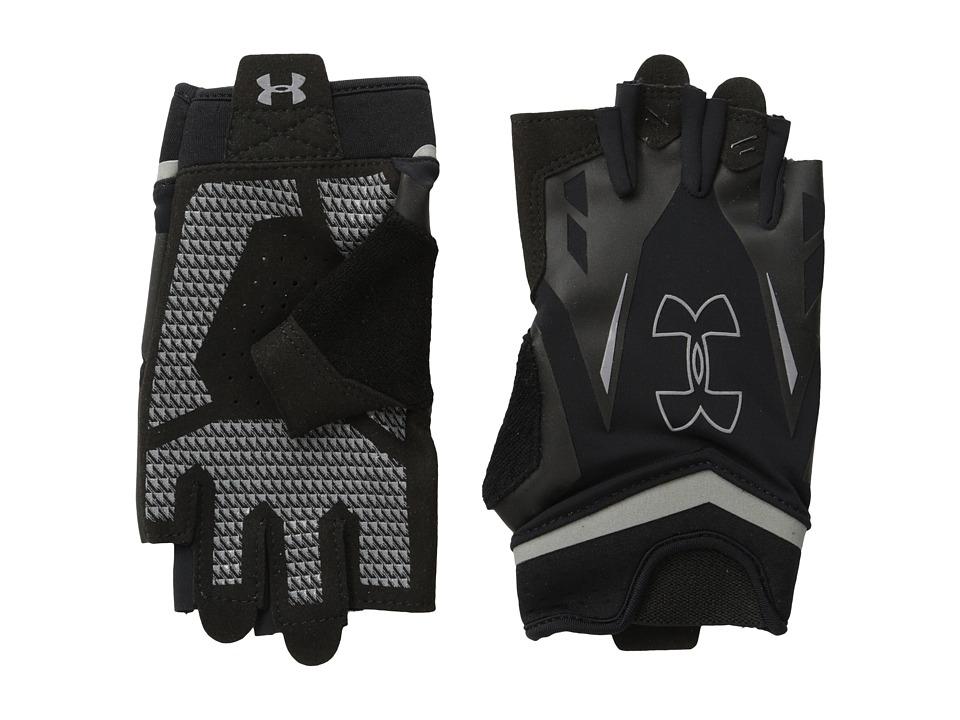 Under Armour - UA Flux Glove (Black/Black/Steel) Extreme Cold Weather Gloves