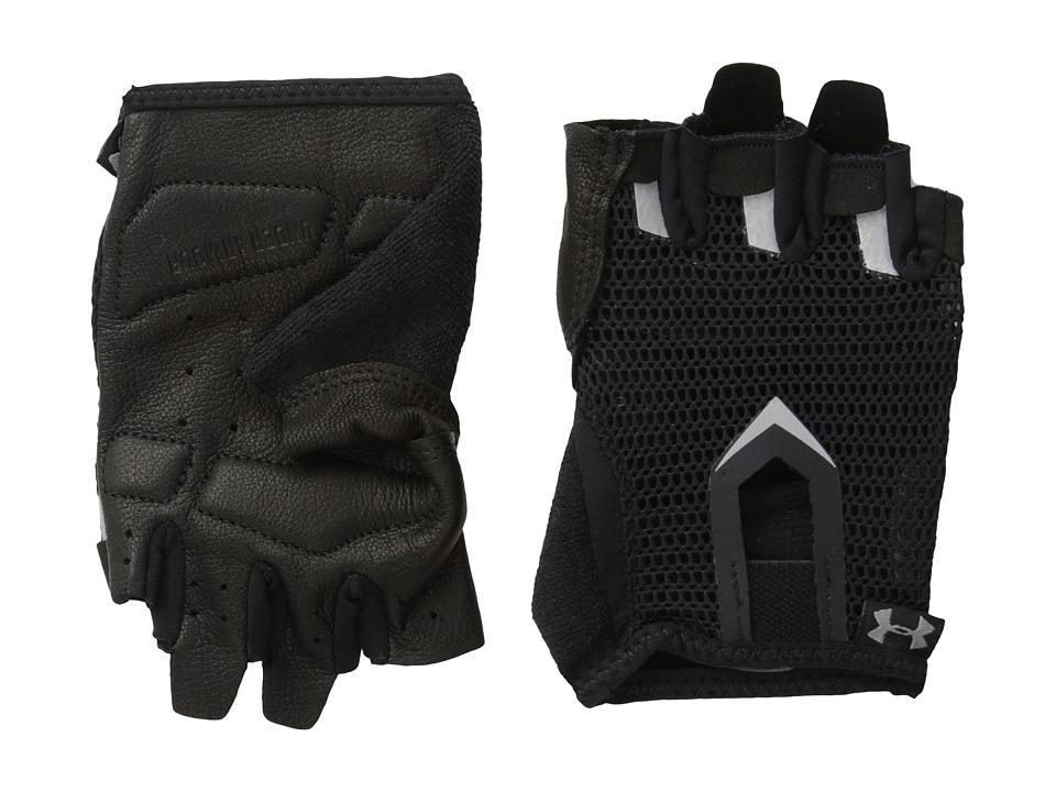 Under Armour - UA Resistor Glove (Black/Metallic Pewter/Metallic Pewter) Extreme Cold Weather Gloves