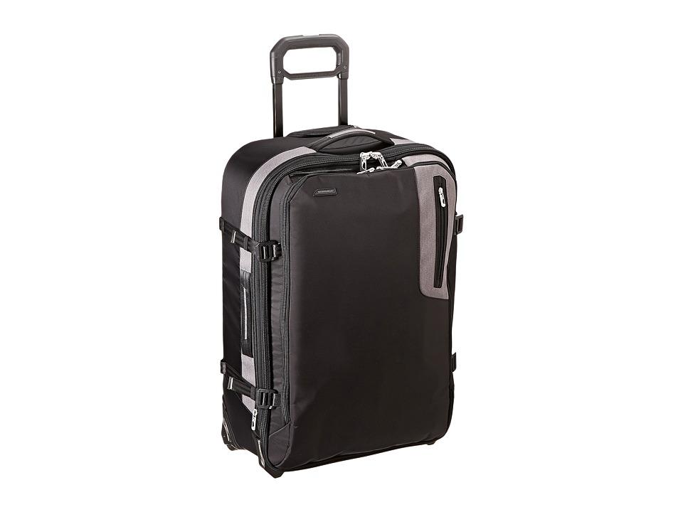 Briggs & Riley - BRX - Explore Medium Upright (Black) Pullman Luggage