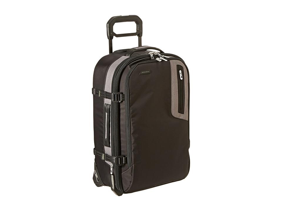 Briggs & Riley - BRX - Explore Domestic Upright (Black) Pullman Luggage