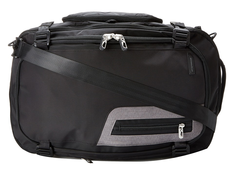 Briggs & Riley - BRX - Exchange Medium Duffle (Black) Duffel Bags