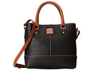 Dooney & Bourke Pebble Leather Mini Chelsea Shopper