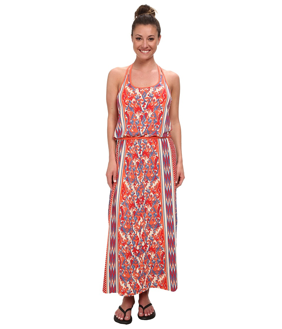 The North Face - Nicolette Maxi (Vintage Blue/Tomato Red (Prior Season)) Womens Dress