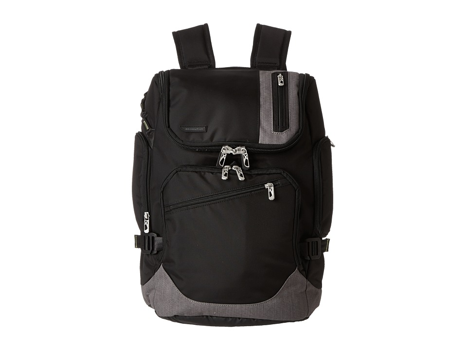 Briggs & Riley - BRX - Excursion Backpack (Black) Backpack Bags