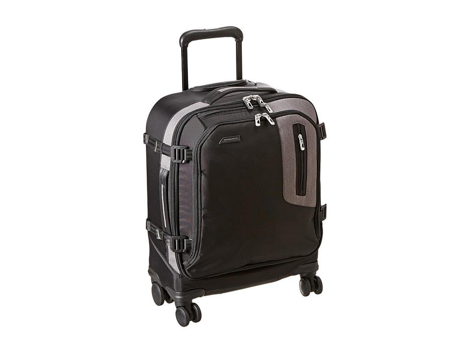 Briggs & Riley - BRX Explore International Wide Body Spinner (Black) Pullman Luggage