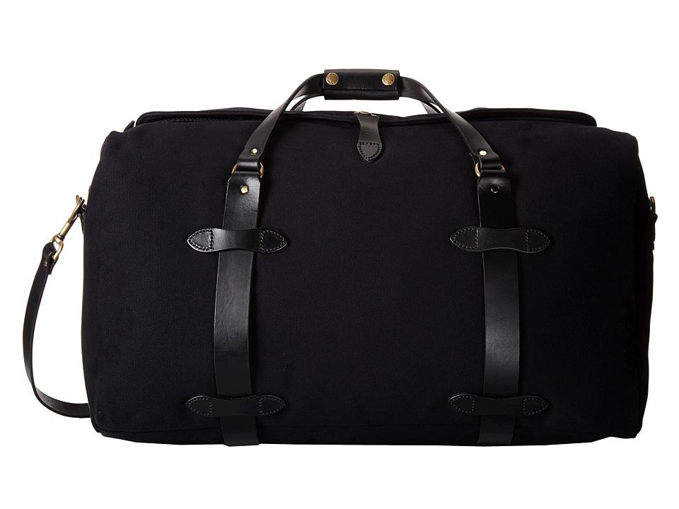 Filson - Medium Duffle Bag (Black) Duffel Bags