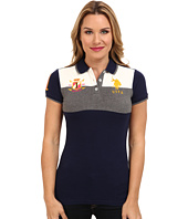 U.S. POLO ASSN. - Color Blocked Pique Polo