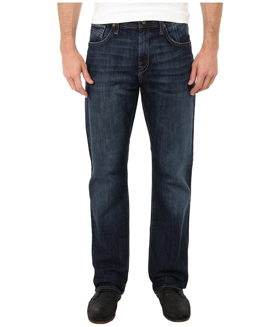 Mavi Jeans Matt Mid Rise Relaxed Straight Leg in Deep Cooper Deep Cooper Mens Jeans