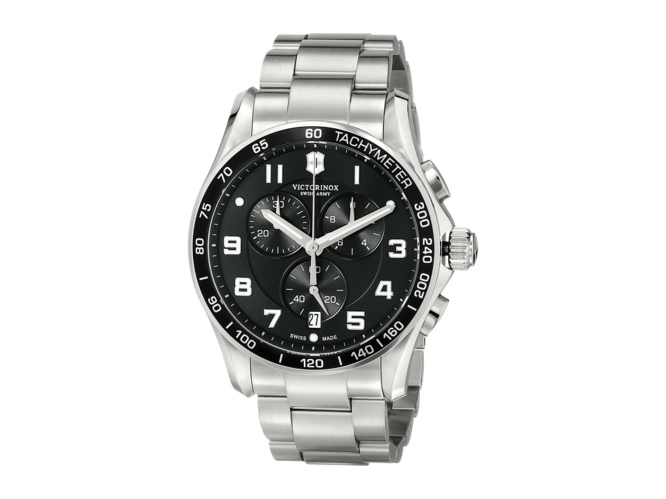 Victorinox 241650 Chrono Classics XLS 45mm Black Watches