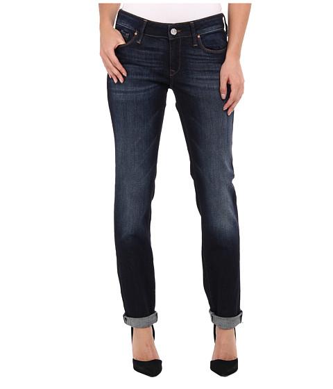 Mavi Jeans Emma Slim Boyfriend in Deep Brushed Vintage - Deep Brushed Vintage
