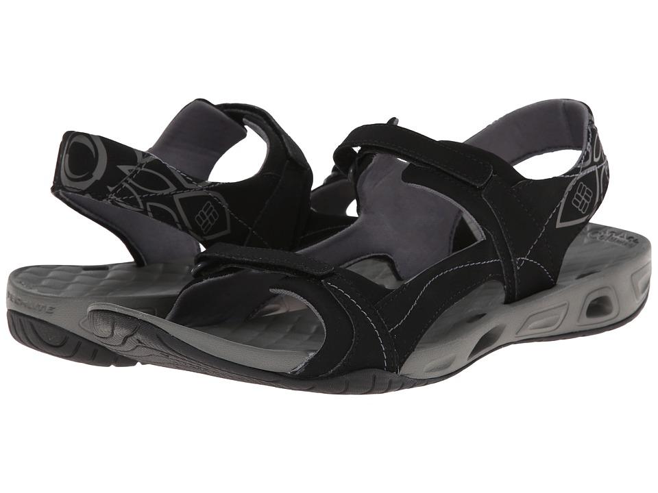 Columbia Sunlight Vent II Black/Charcoal Womens Shoes